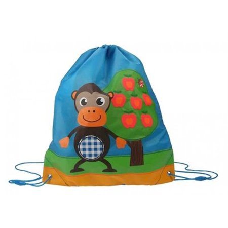 Gymtas Apple Tree Blauw (Kidzroom)